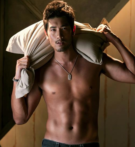 Godfrey Gao Обои possibly containing a ломоть and skin entitled Godfrey Gao