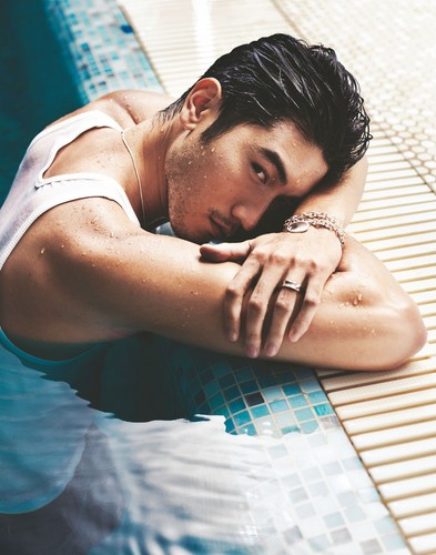 Godfrey Gao fondo de pantalla with skin called G.G.