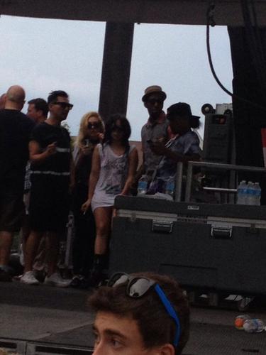 Gaga at Pitchfork âm nhạc Festival (July 21)