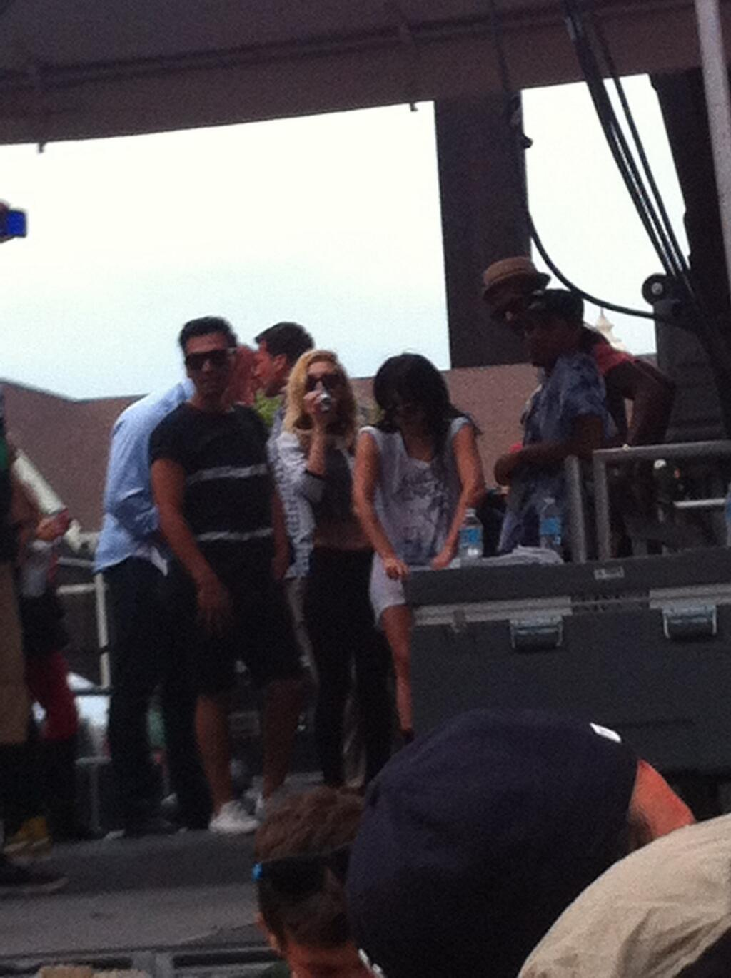 Gaga at Pitchfork Music Festival (July 21)