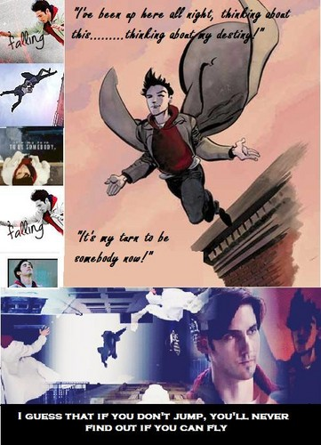 Peter Petrelli achtergrond with anime entitled Genesis Fanart