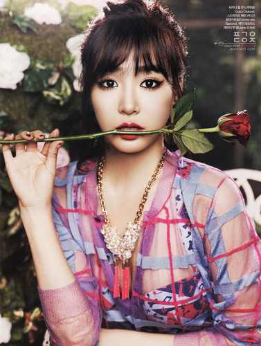 Girls' Generation's Tiffany cover of 'CeCi'
