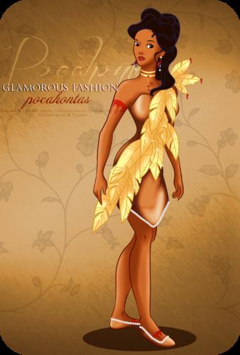 Glamorous Fashion - Pocahontas