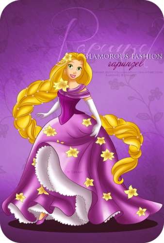 Glamorous Fashion - Rapunzel