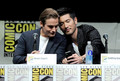 Godfrey Gao and Kevin Zegers [Comic Con 2013] - alec-and-magnus photo