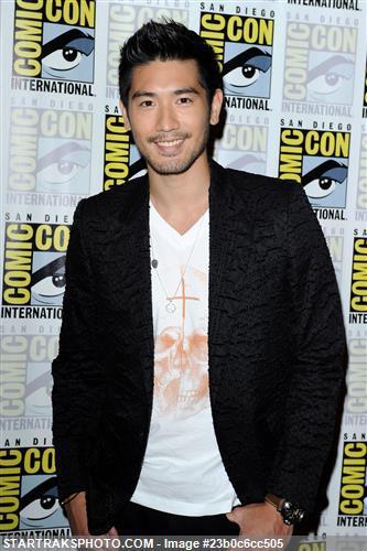 Godfrey at Comic-Con '13