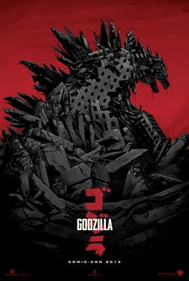 Godzilla 2014 Official Poster