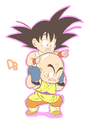 Goku and Krillin - dragon-ball fan art