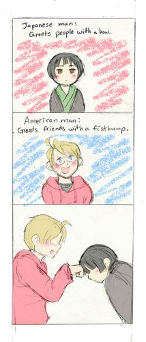 Greeting Differences ~