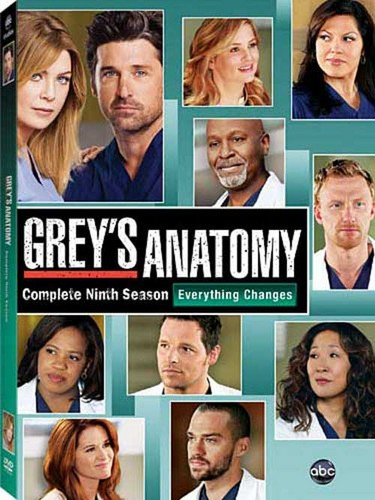 Grey's Anatomy Season 9 DVD Cover