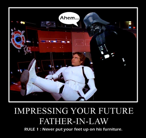 Han, Im your Father - in -Law