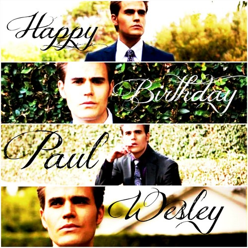 Happy Birthday Paul ♥