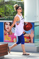 Heading to the gym for a workout in West Hollywood - kaley-cuoco photo