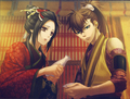 Heisuke and Chizuru - hakuouki photo