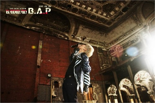 """Himchan teaser image for """"BADMAN"""""""