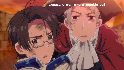 Hetalia Couples! wallpaper containing anime called Holy crap! xD