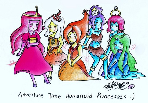 Humanoid Princesses