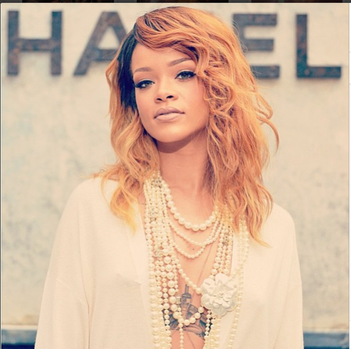 Rihanna wallpaper probably containing a portrait entitled Instagram photos