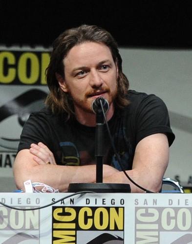 James McAvoy at SD Comic-con 2013
