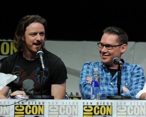 James McAvoy at SD Comic-con