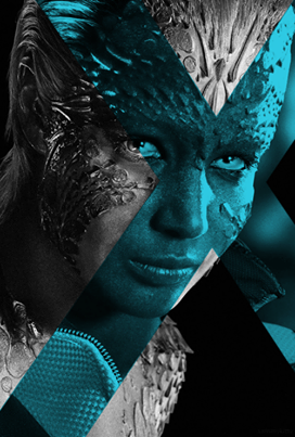 Jennifer Lawrence as Μystique (X-Men: Days of Future Past)