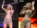 Copycat: Beyonce copies Jennifer Lopez [JLo 1999 vs Beyonce 2004] - jennifer-lopez fan art