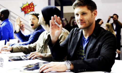 Jensen & Misha - Comic Con 2013