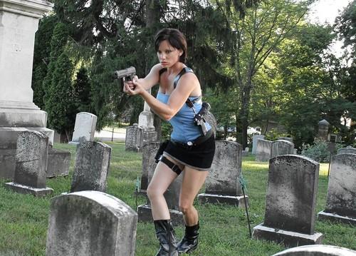 Jill Valentine-Sienna Guillory look-alike