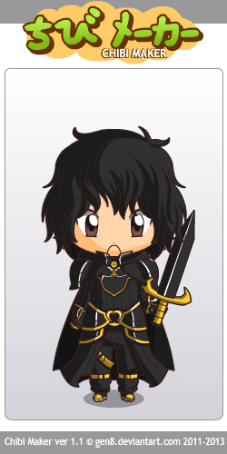 Jon as chibi