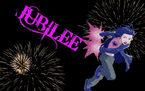 Jubilee / Jubilation Lee Firework wallpaper