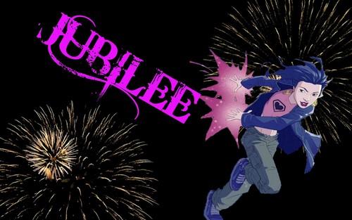 Jubilee / Jubilation Lee Firework Wallpaper