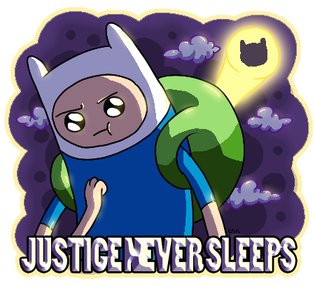 Justice never sleeps