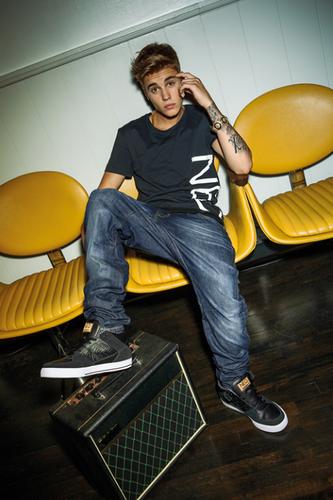 Justin Bieber Adidas Neo Photshoot