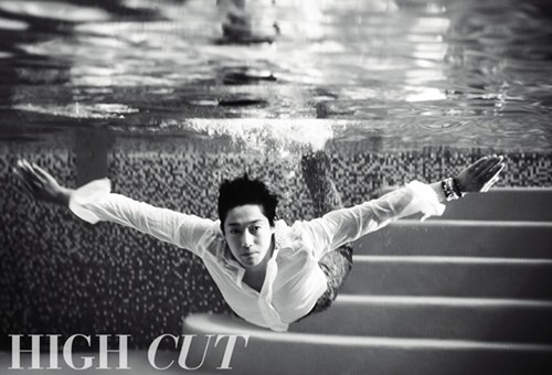 Kim Hyun Joong for 'High Cut'