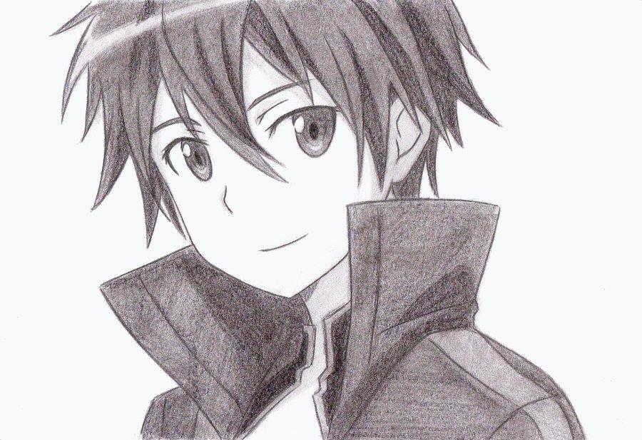 Sao Ausuna Full Body: Kirigaya Kazuto (Kirito) Fan Art