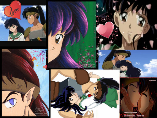 Koga and Kagome's love