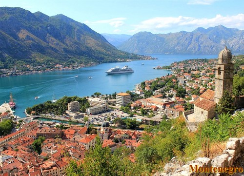 Kotor beautiful Adriatic coast Eastern Europa beaches