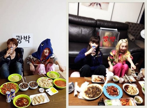 Kwanghee and Siwan parody 2NE1's 'Double Park'