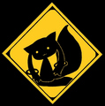 Kyubey Caution Sign