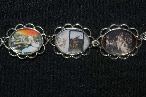 LED ZEPPELIN album cover art bracelet
