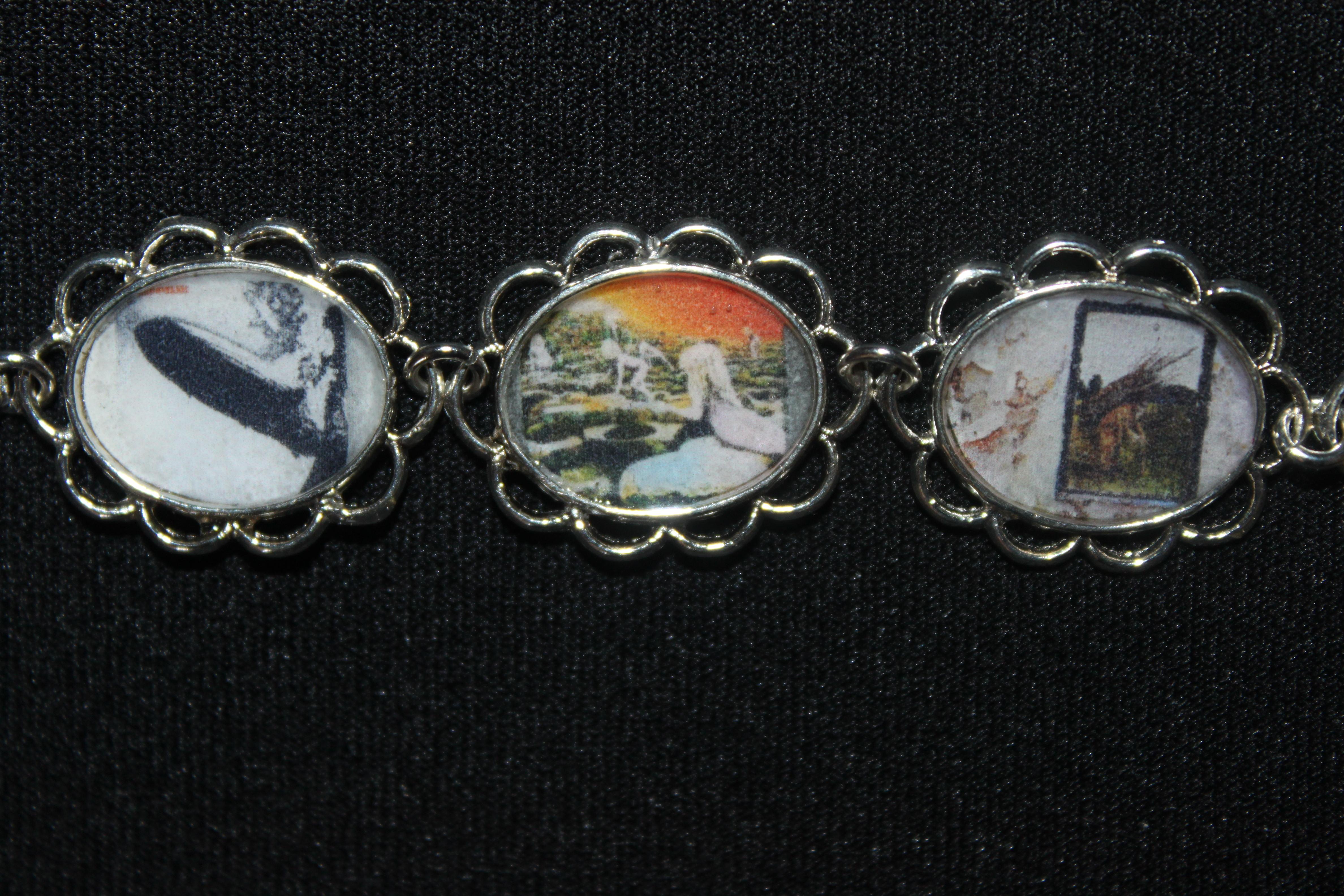 LED ZEPPELIN album cover art bracelet