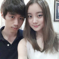 Lim selca with her brother