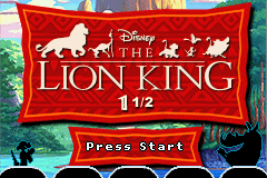 Lion King 1 ½