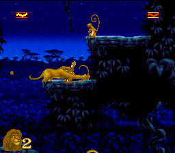 The Lion King پیپر وال entitled Lion King (video game)