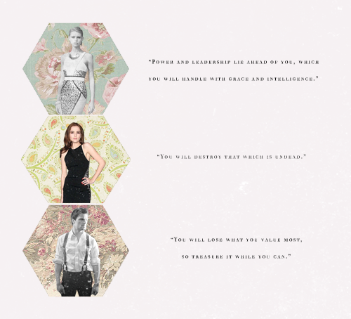 Lissa, Rose and Dimitri
