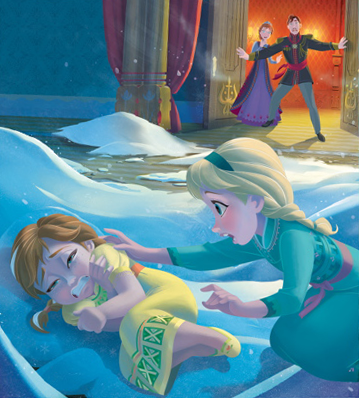 Little Anna and Elsa - frozen Photo