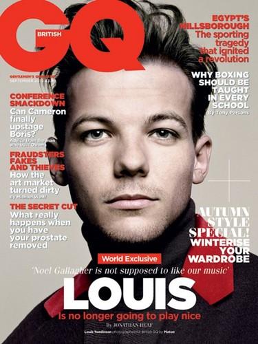 Louis GQ Magazine UK