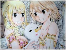 Lucy and Elie^^