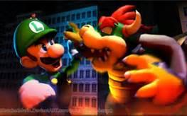 Luigi vs Bowser