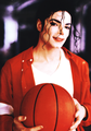 MJ BBALL - michael-jackson photo